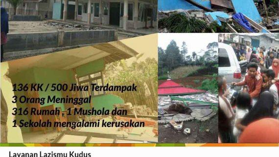 Gempa 4,4 SR Guncang Banjarnegara, MDMC dan LAZISMU Turun Langsung ke Lokasi