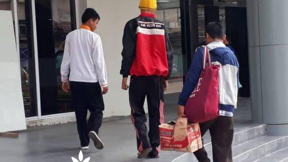 Lazismu Kudus Antar Pasien Jalani perawatan ke RS Karyadi Semarang