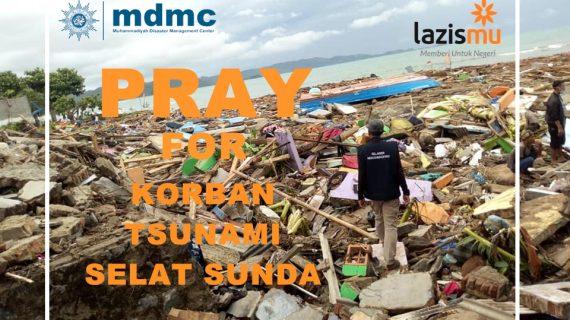 Muhammadiyah Dirikan Posko Bencana Tsunami