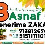8 (Asnaf) Mustahiq Zakat
