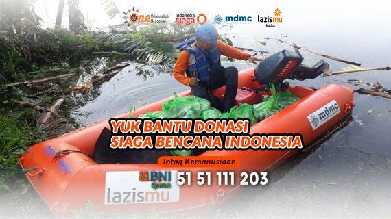 DONASI SIAGA BENCANA INDONESIA