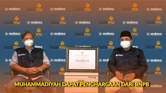 Penghargaan Dari BNPB Untuk Muhammadiyah