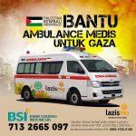 LAZISMU SIAPKAN 3 UNIT AMBULANCE UNTUK GAZA